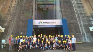 Viagem Internacional- Hernandarias e Itaipu 2015 Fonte Claudia Moreira Martins
