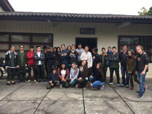 Visita Técnica FIBRA- UFPR 2017 Foto